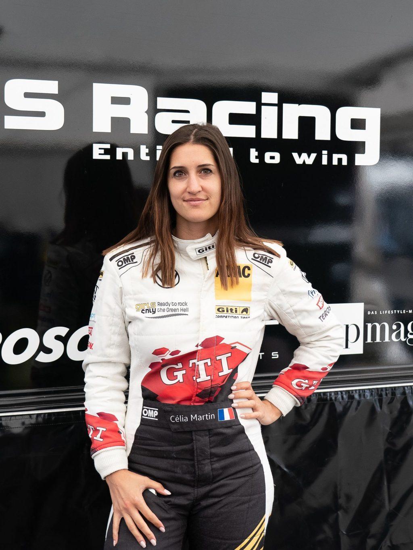 Foto de Piloto del equipo femenino de Giti Tire Celia Martín,