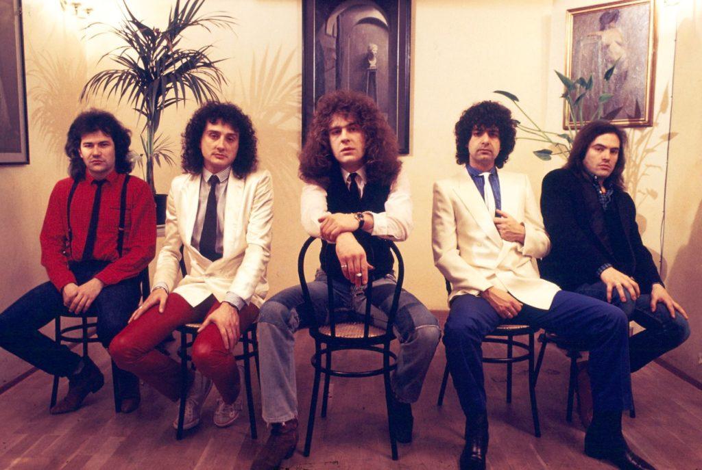Foto de Asfalto, año 84. Album Cronofobia