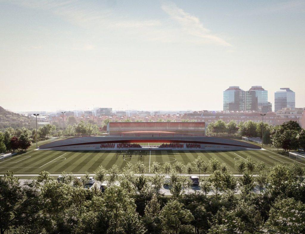 Foto de Proyecto de la nueva Ciudad Deportiva de la Fundació Damm