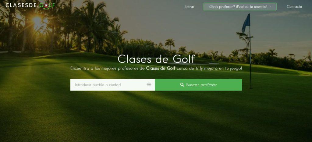 Foto de Clases de golf Pantallazo