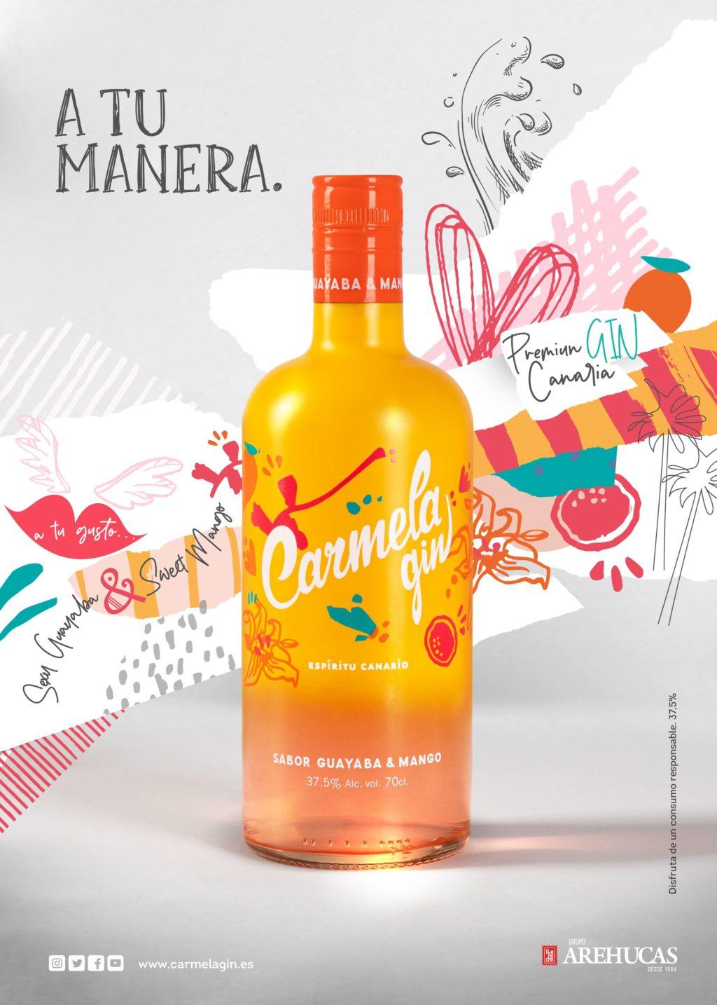 Foto de Nueva botella Carmela gin