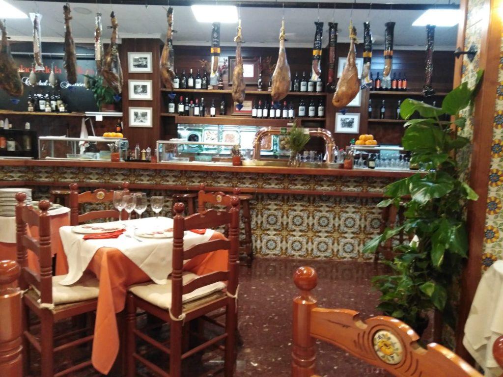 Foto de restaurante de jamón