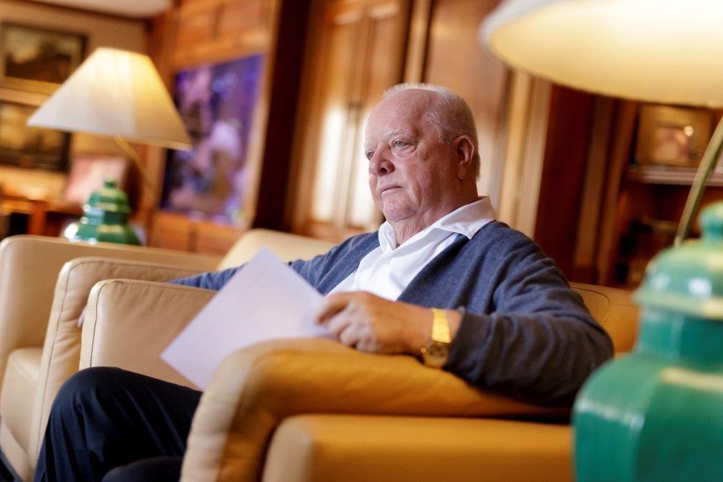 Foto de Wolfgang Kiessling, presidente de la Compañía Loro Parque