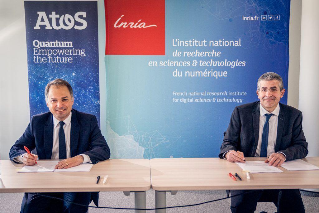 Foto de Atos y el Instituto Nacional Francés de Investigación en
