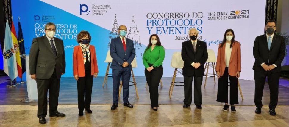 Foto de Foto rueda de prensa del Congreso de Protocolo