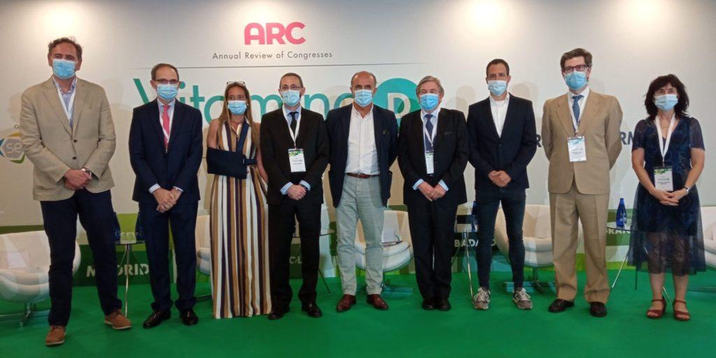 Foto de Los ponentes del ARC Vitamina D
