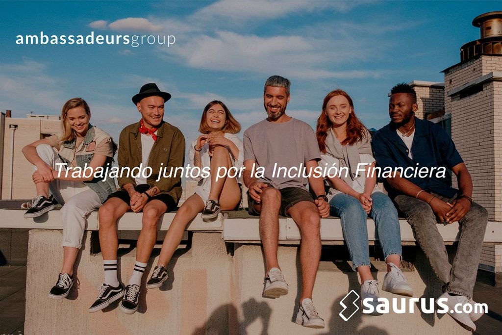 Foto de Saurus.com se asocia con Ambassadeurs Group