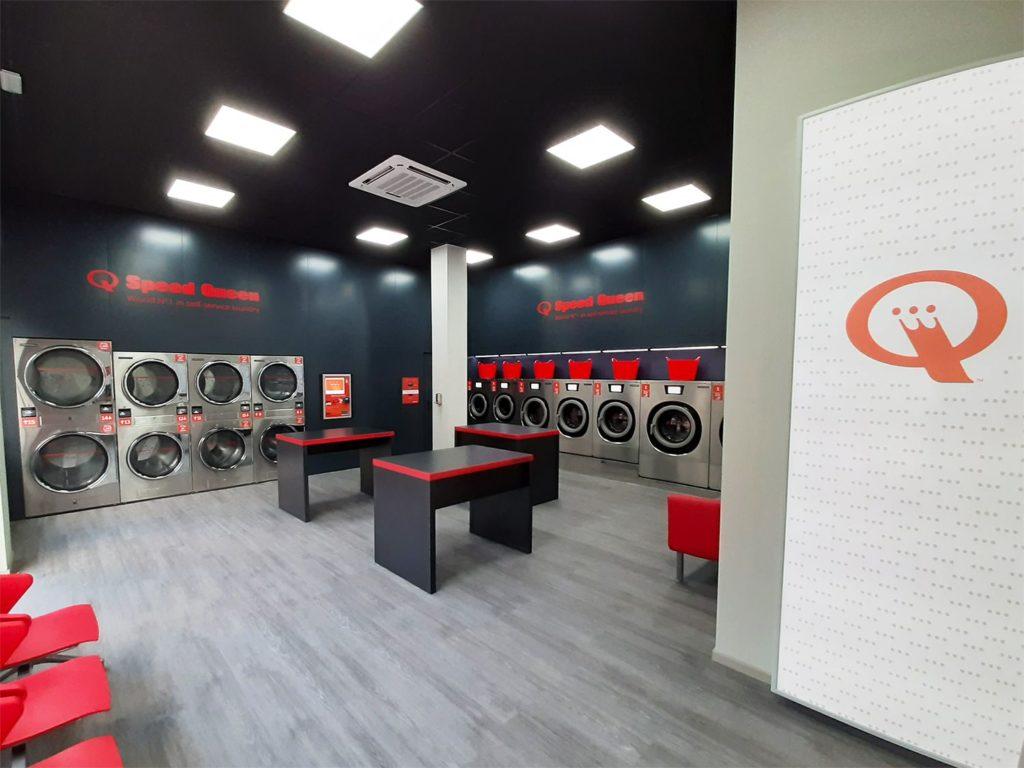Foto de Interior lavandería Speed Queen Móstoles